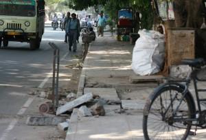 Chodnik w Chennai