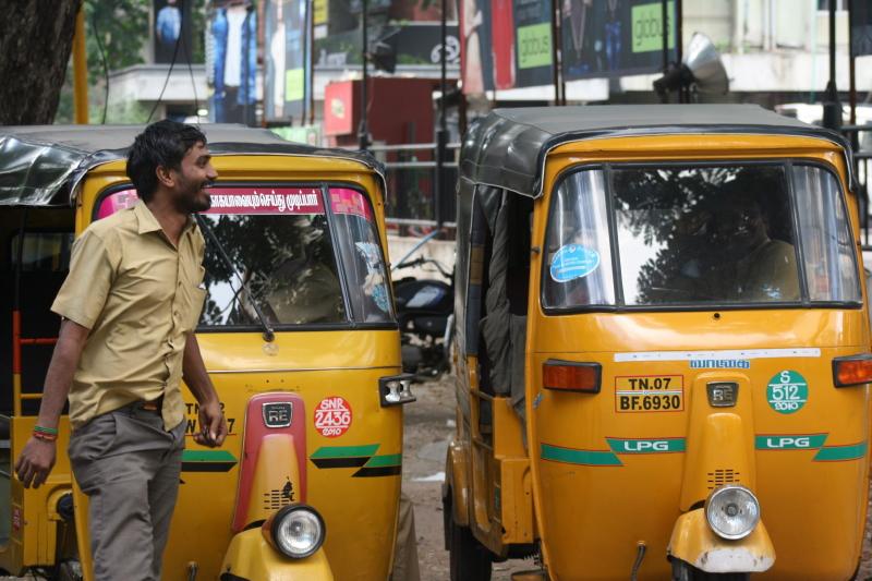 Rikszarz z Chennai