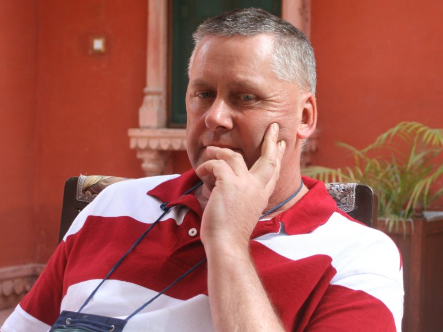 Antoni w pałacu Radży